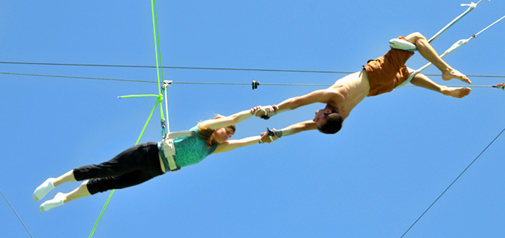 tuenight age appropriate trapeze flying