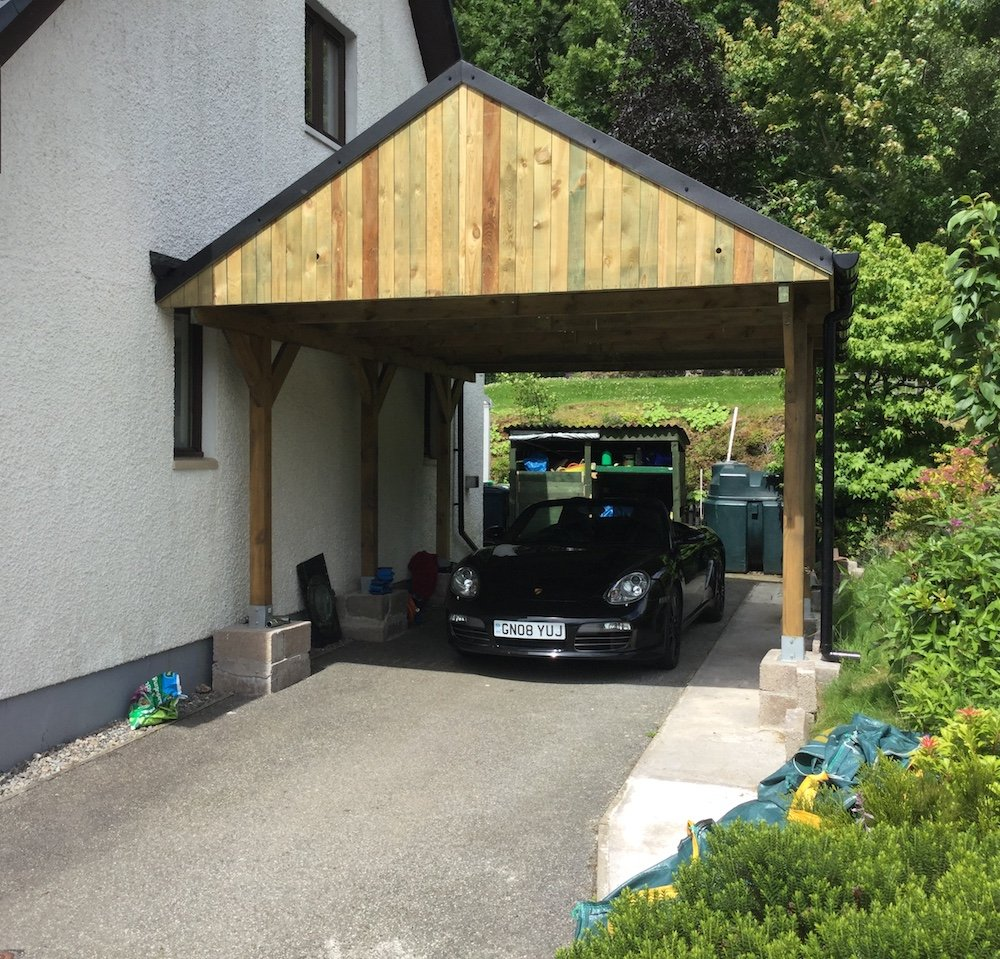 Dachkonstruktion Carport Apex Roof Carport