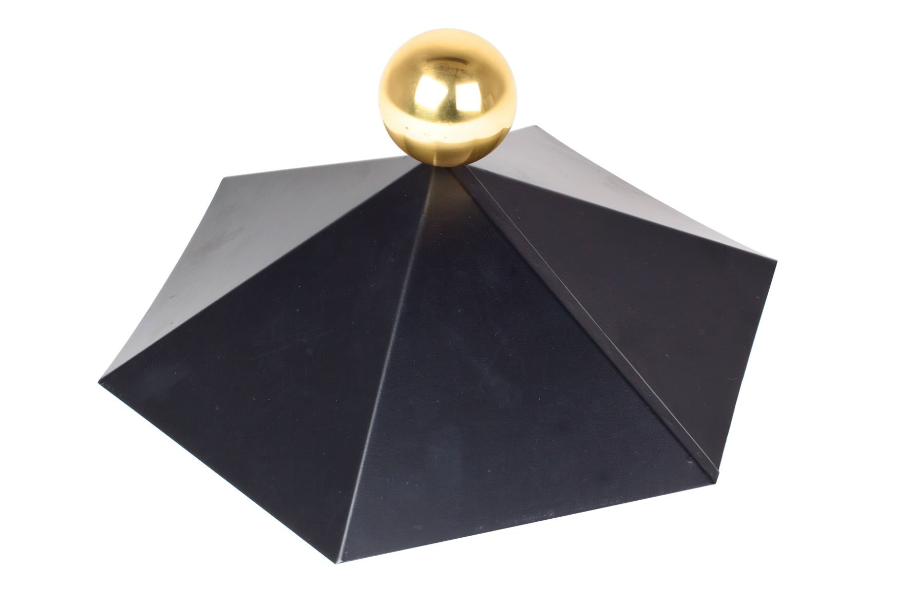 Embadecor W Metal Roof Finial For Garden Buildings
