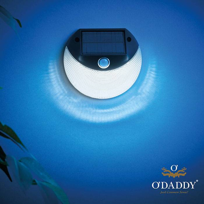 Verlichting Robs Grote Tuinverbouwing O'daddy Solar Wandlamp Klein Secunda - Tuincollectie.nl