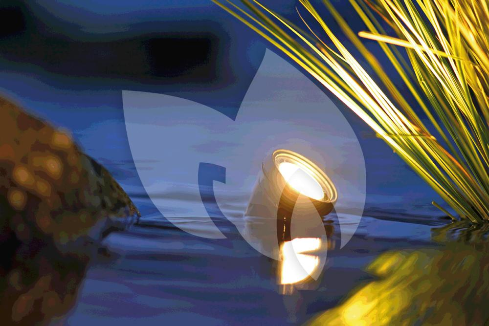 12 Volt Inbouwspots Set Oase Lunaqua 3 Led Set 3 Vijververlichting | Tuinexpress.be