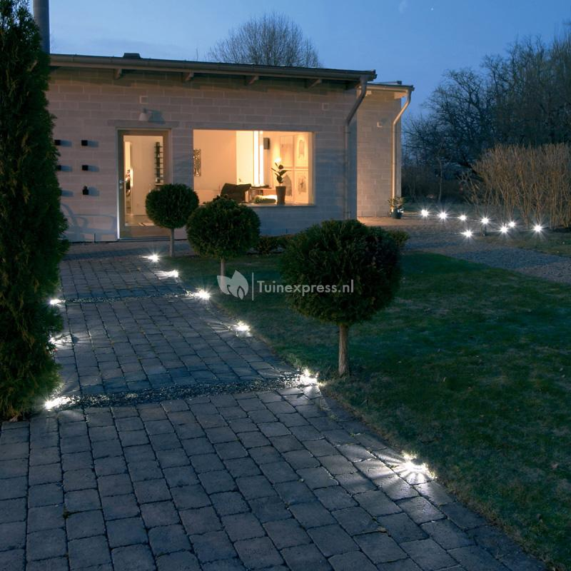 Tuinverlichting 12 Volt Set Konstsmide Led Borderverlichting Startset | Tuinexpress.nl