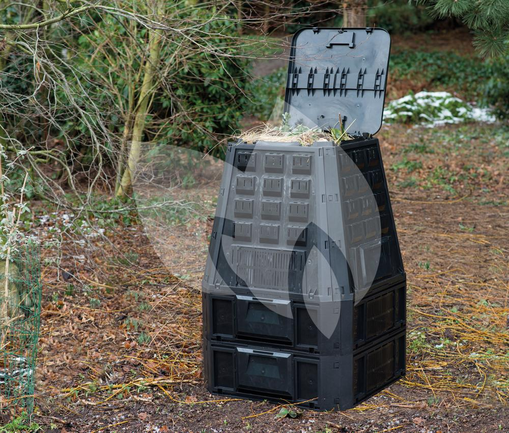 Compostbak Hout Thermo Compostbak 800 Liter