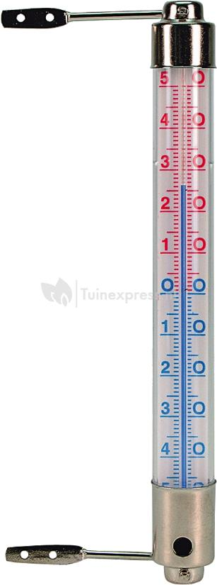 Grote Buitenthermometer Nature Kozijnthermometer Kelvin 3 | Tuinexpress.nl