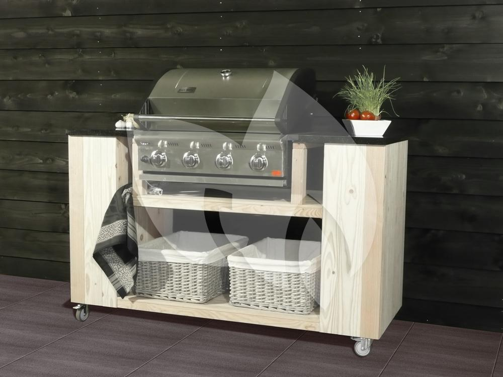 Barbecue Hoes Patton Patron Build-in 4-burner | Tuinexpress.nl