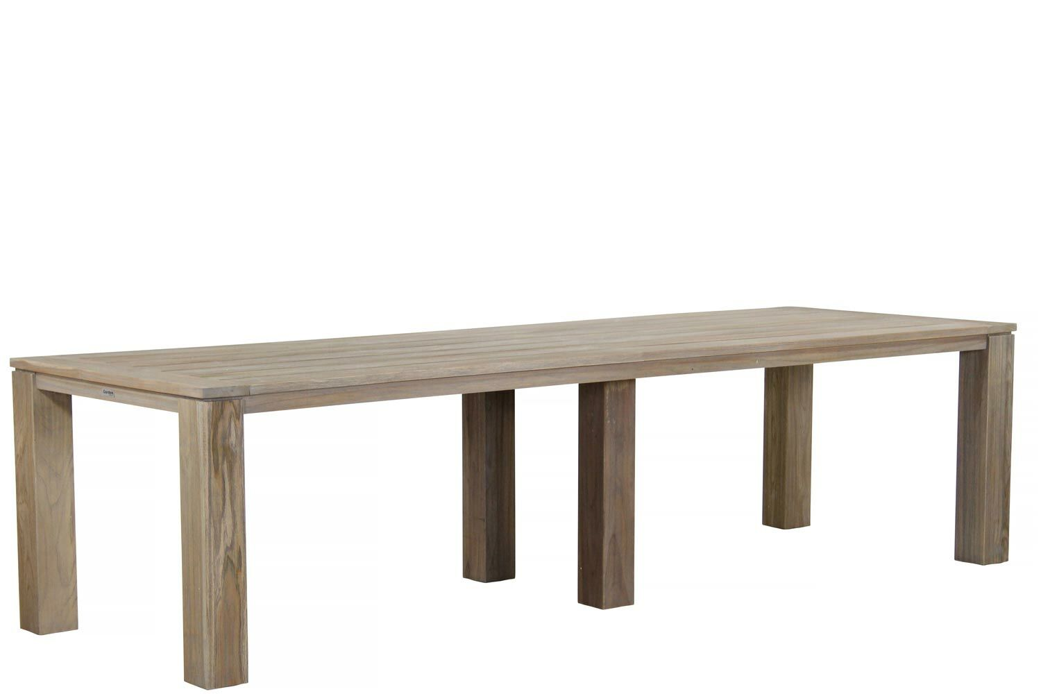 Teak Eettafel 300 Cm Garden Collections Buckingham Brighton Tafel 300 Cm Dining Tuinset 9 Delig