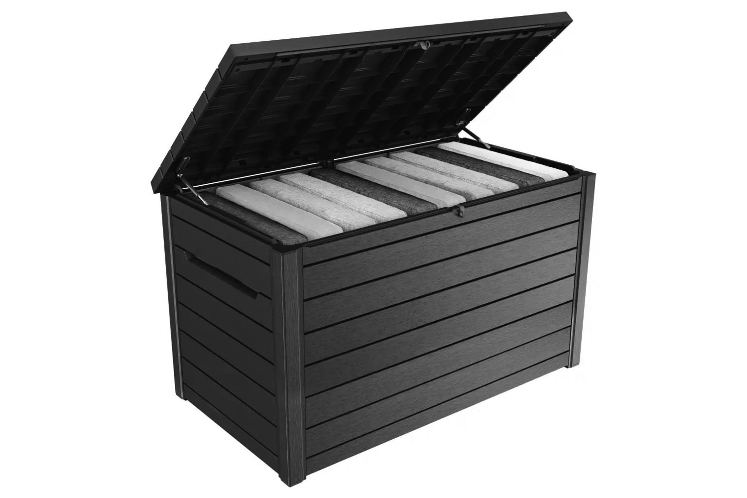 Keter Lounge Shed Opbergbox Aanbieding Tuinmeubelen Aanbieding Keter Ontario Kussen Opbergbox Antraciet
