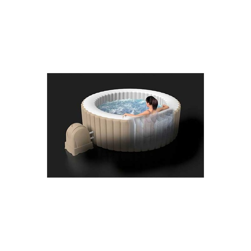 Fun Zwembad Accessoires Jacuzzi Kopen Intex Octagon Pure Bubbel Therapy Spa Met