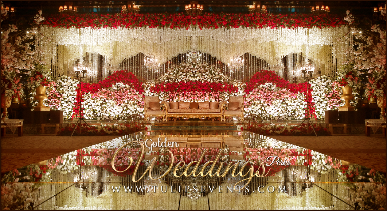 Stage Decoration Tulips Event Best Pakistani Wedding Stage Decoration Flowering