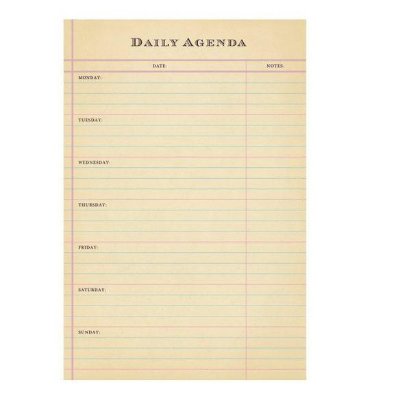 Sugarboo Daily Agenda - Tulips