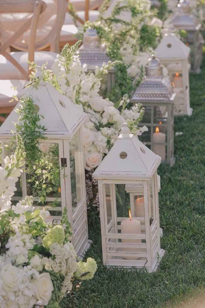 Cucina Bianca Country Chic 21 Pretty Garden Wedding Ideas For 2016 | Tulle