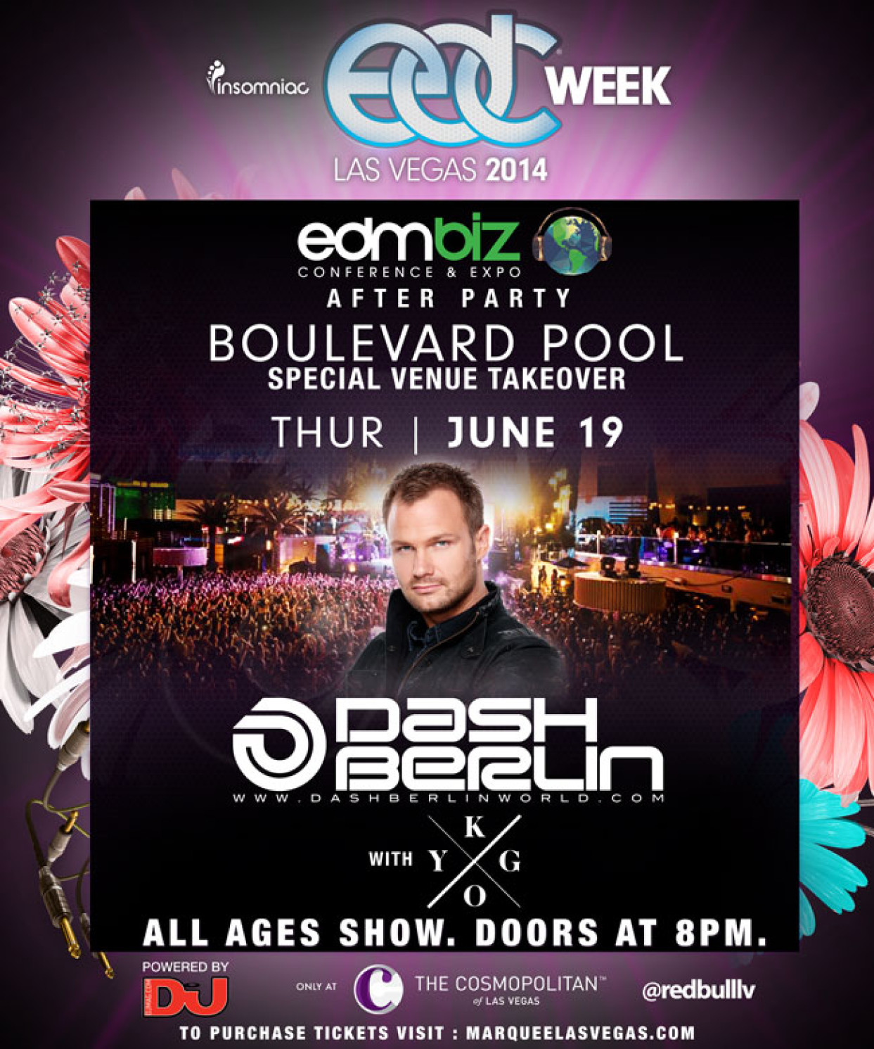 Cosmo Berlin Dash Berlin At Boulevard Pool At The Cosmo Thursday Night June