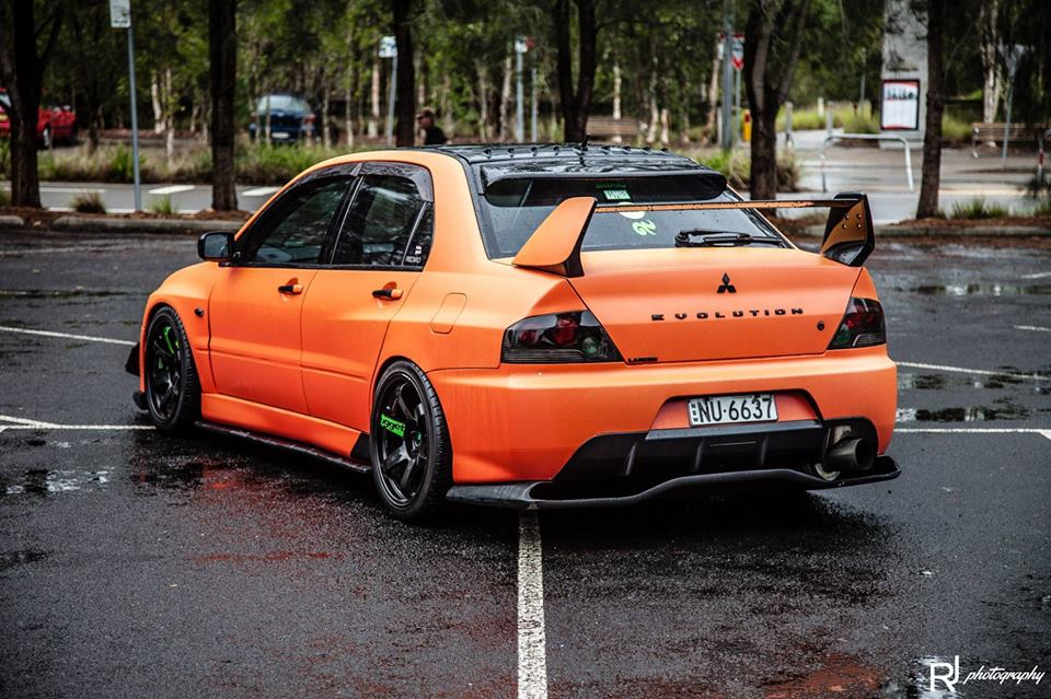 Car Lineup Wallpaper Mitsubishi Lancer Evolution 8 Tuning 15 Tuning