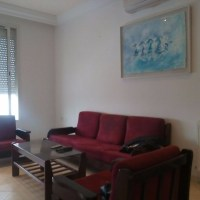 For rent furnished apartment in La Marsa