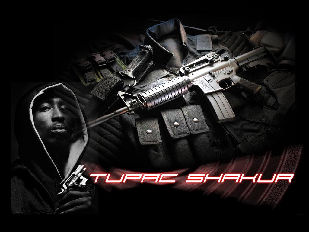 Guns Wallpaper Hd 2pac