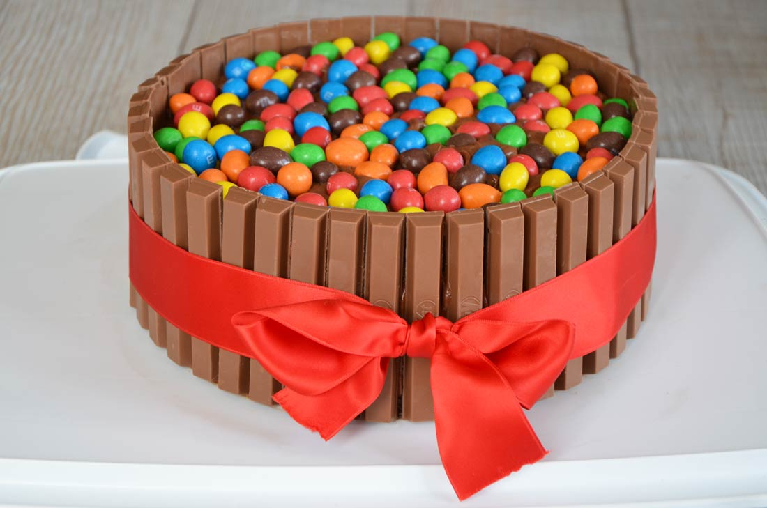 Recette Gateau Kit Kat Birthday Party Cake