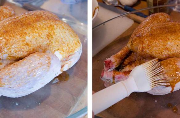 poulet fermier label rouge et citron