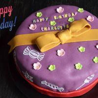 Gâteau d'anniversaire saveur Tiramisu {Layer cake}