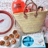 Muffins myrtilles pralines roses : à partager le 29 mai ! {jeu concours}