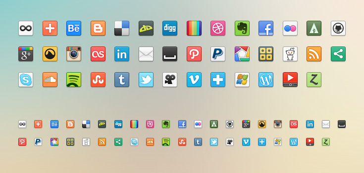 preview1 10 Free Icon Packs for UI & Design Usage