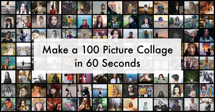 Online Fotocollage Make A 100 Photo Collage In 60 Seconds | Turbocollage