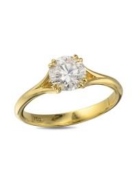 Yellow Gold Diamond Engagement Ring - Turgeon Raine