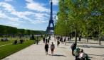 """La """"fan-zone"""" oficial se ubicará en el Campo de Marte, la explanada frente a la Torre Eiffel. Fotos: dpa"""