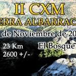 CXM Sierra Albarracin 2016
