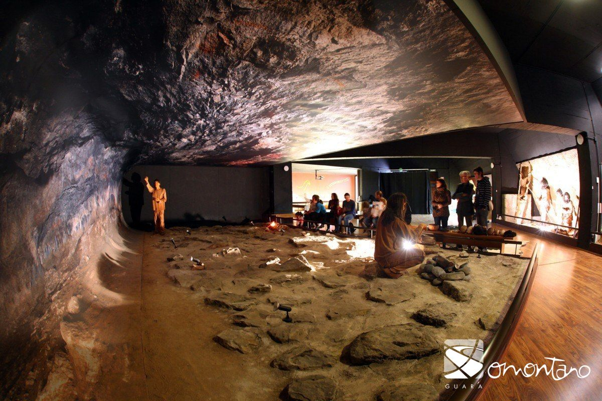 Arte Rupestre English Cave Art Visitor Centre Turismo Somontano