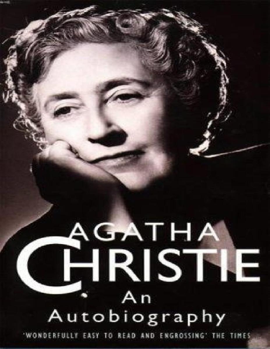 #Dimmicosaleggi: Agatha Christie an Autobiography