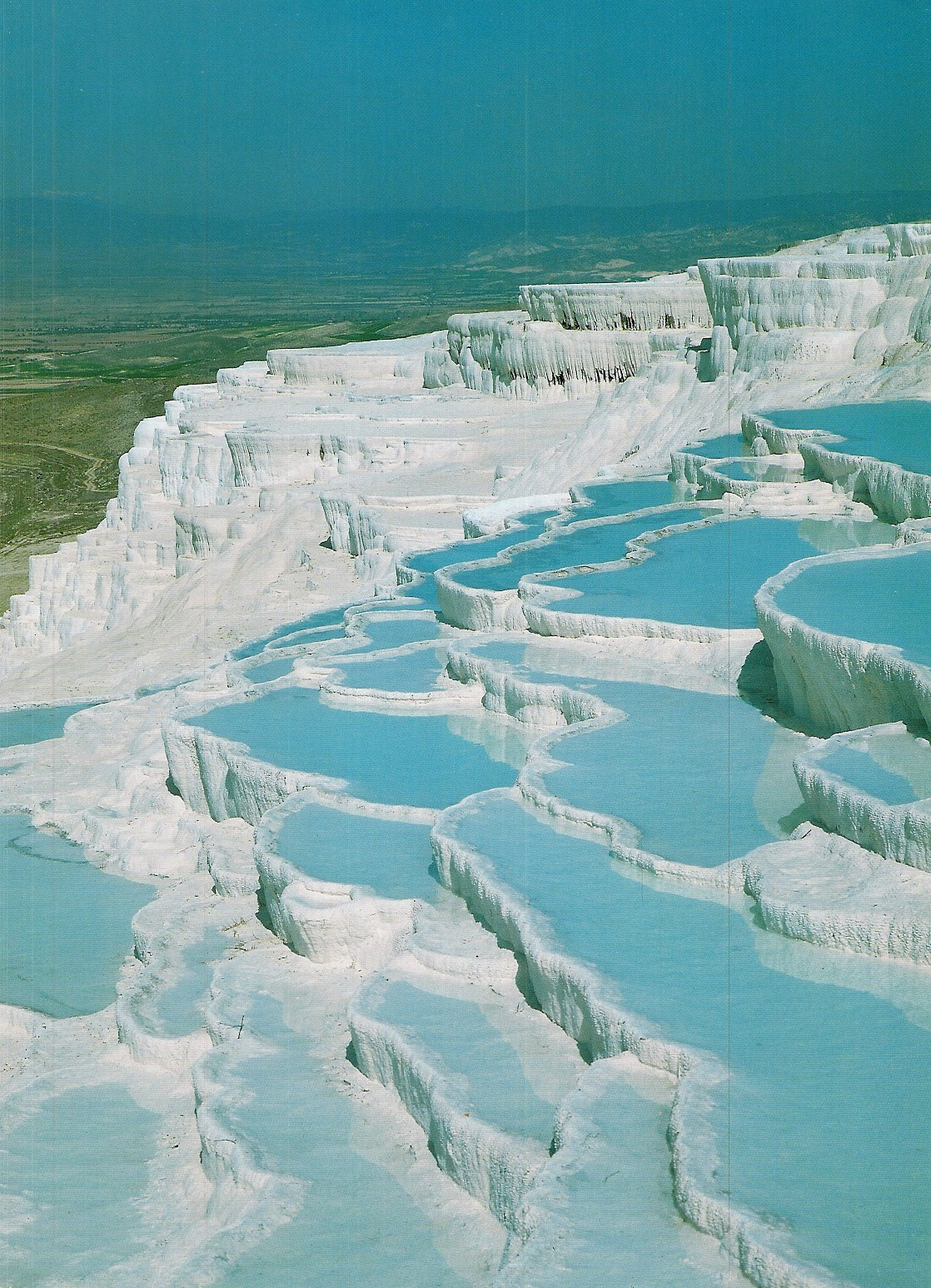 Turquia Piscinas Naturales Pamukkale By Photos