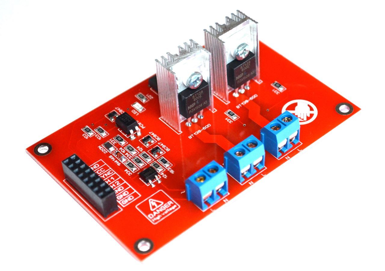 Smart Home Dimmer 2ch Ac Led Light Dimmer Module Controller Board Arduino Raspberry Smart Home