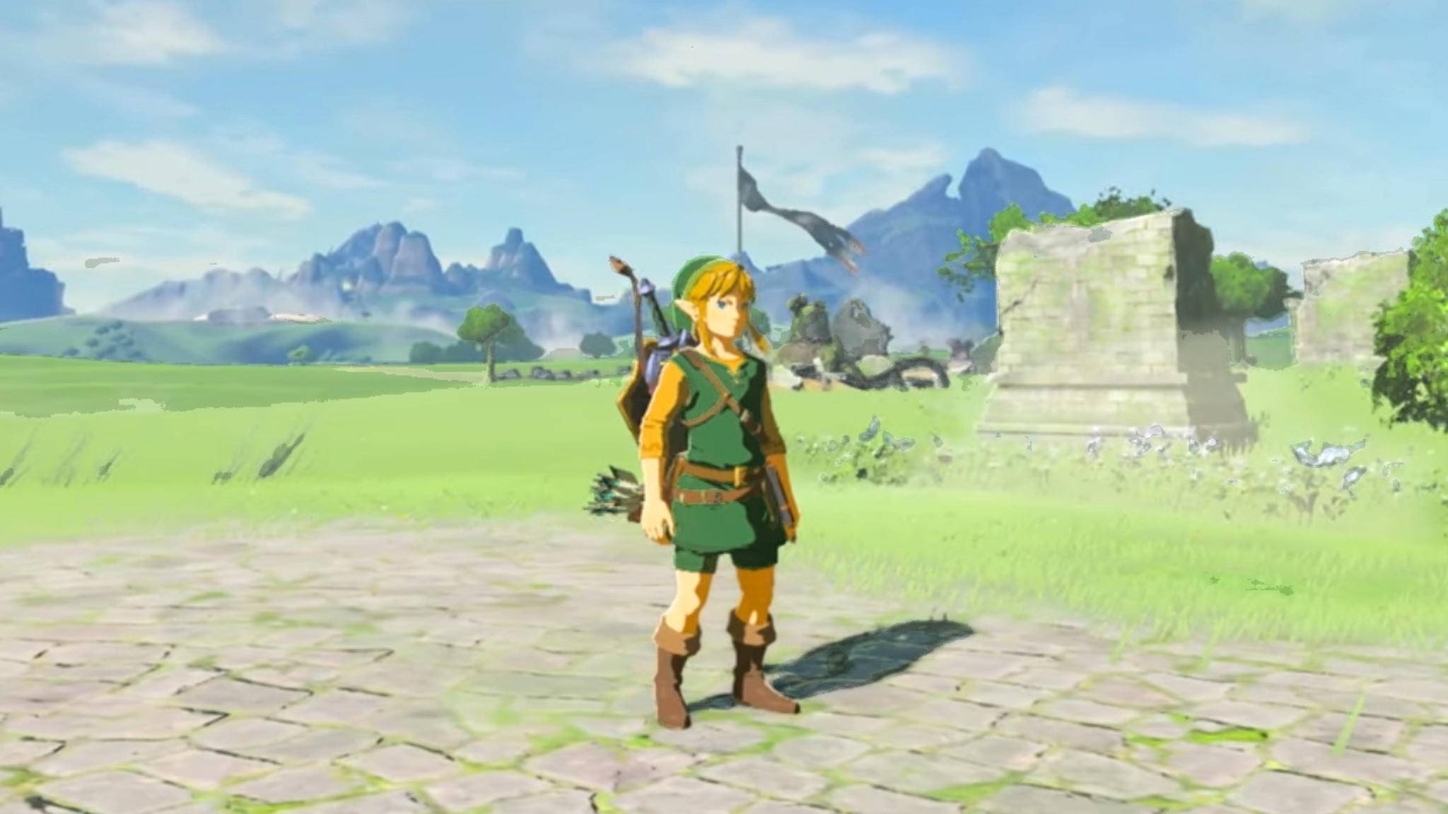 "Legend Of Zelda Breath Of The Wild Königliche Küche ""legend Of Zelda: Breath Of The Wild"": Hol Dir Das Grüne"