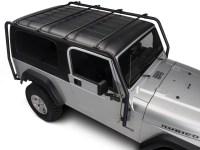 Barricade Jeep Wrangler Roof Rack - Textured Black J100532 ...