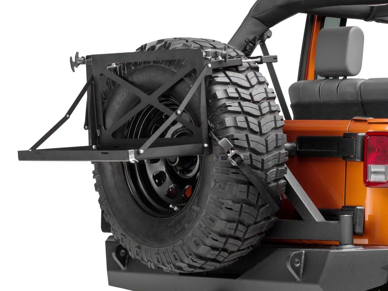 Jeep Wrangler Homemade Tire Carrier 2018 Dodge Reviews