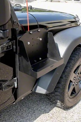 Morryde Jeep Wrangler Jerry Can Side Mount Tray J104170