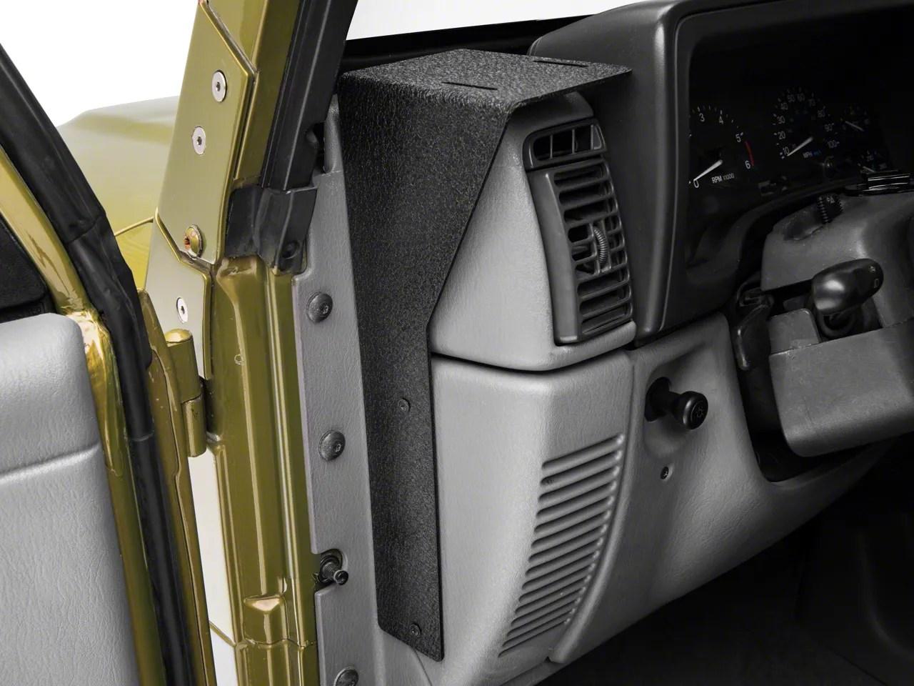 Rugged Ridge Jeep Wrangler Cb Radio Dash Mount 1355109
