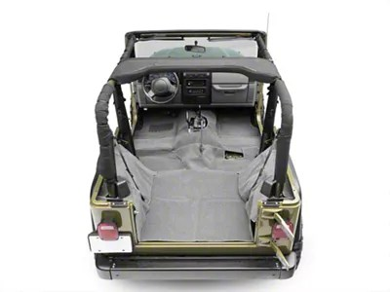 Rugged Ridge Jeep Wrangler Deluxe Complete Carpet Kit