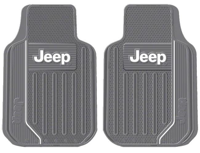 Alterum Jeep Wrangler Jeep Logo Elite Series Front Floor
