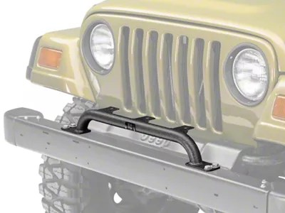 Rugged Ridge Jeep Wrangler Front Bumper Mounted Light Bar