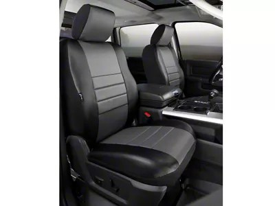Fia F 150 Custom Fit Leatherlite Front Seat Covers Gray