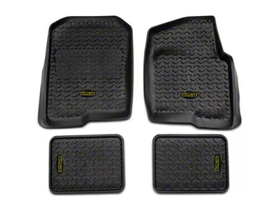 Barricade F 150 Front Rear Floor Liners Black T536739