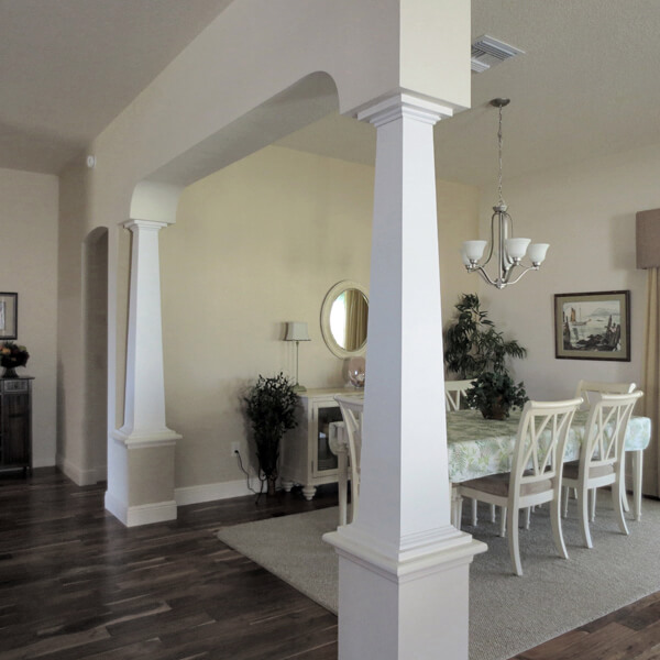 Kitchen Island Alternatives Benefits Of Replacing Load-bearing Walls With Columns And