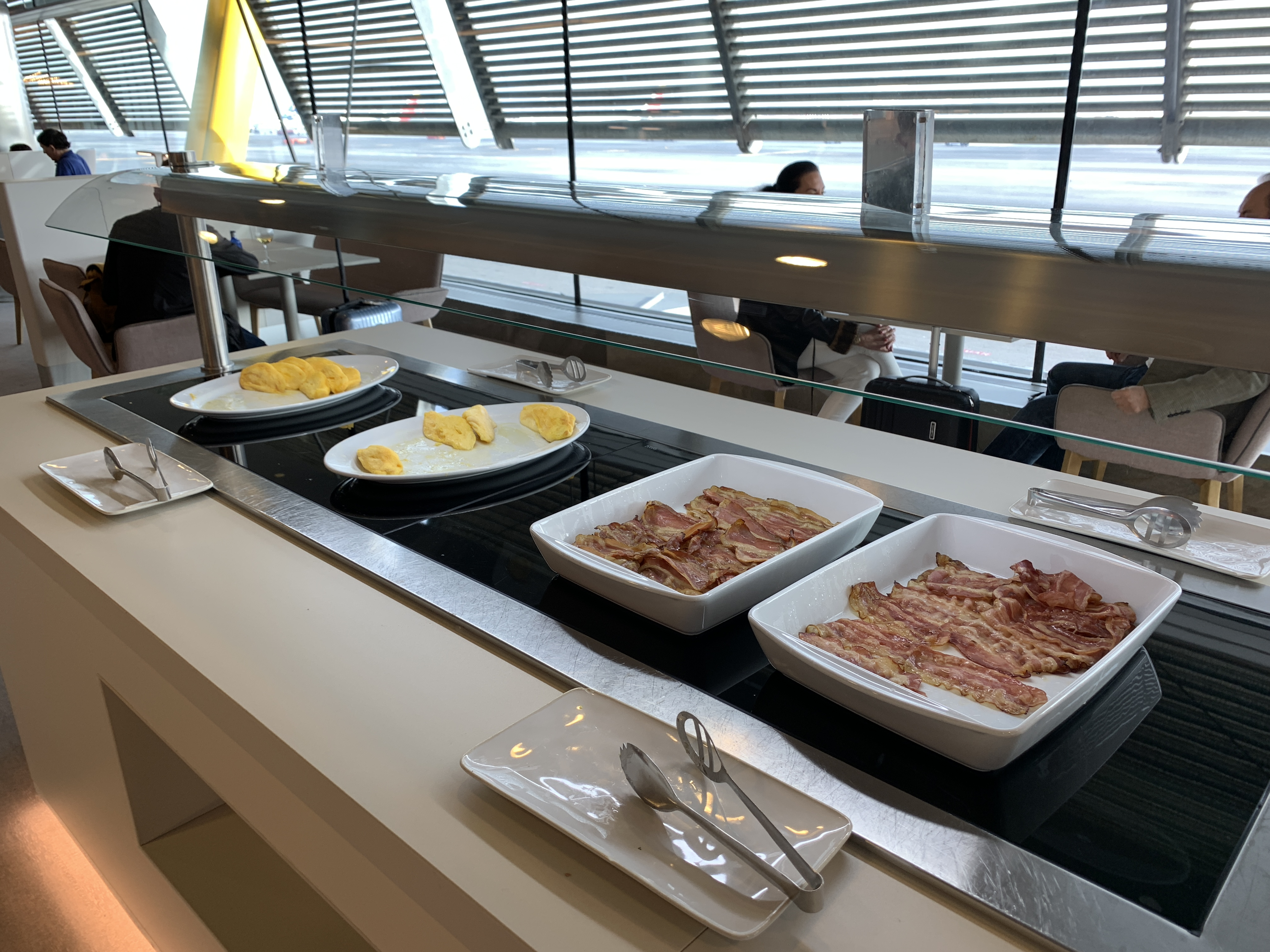 Buffet Fly Occasion Iberia A350 Business Class Long Haul Better Than Ba Turning