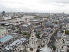 It's a real climb to the top of St Paul's Cathedral, but the view is worth it.
