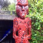 Carving at Rotorua Museum