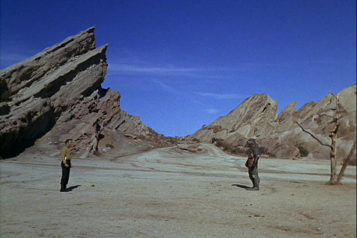 Face-off at Vasquez Rocks
