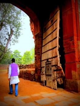 Gate at Babur's Tomb, Delhi