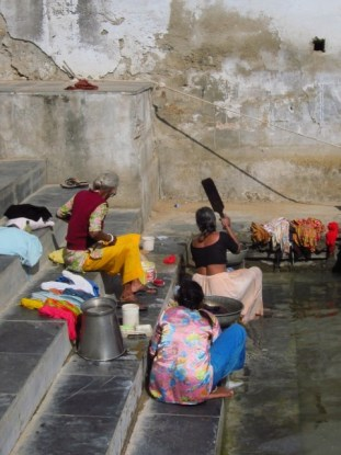 Laundry Time, Udaipur