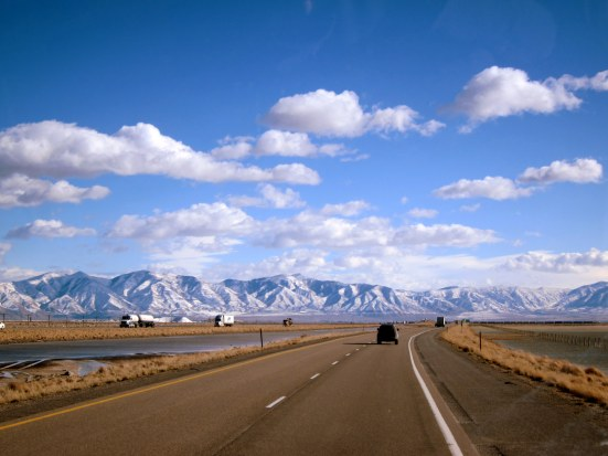 December- Cross Country Drive, Bonneville Salt Flats, Utah